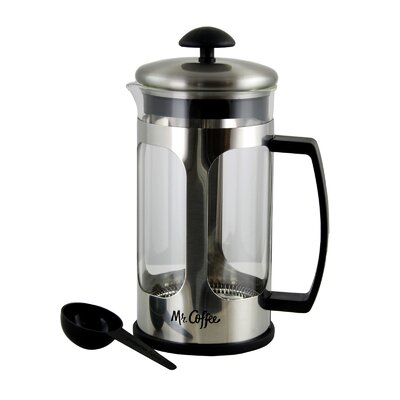 4-Cup Mr. Coffee Daily Brew French Press Coffee Maker
