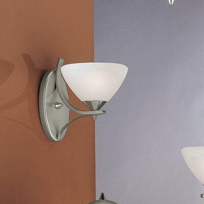 JH Miller Dorchester 1 Light Semi-Flush Wall Light