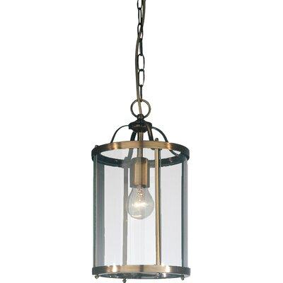 JH Miller Panelled Lantern 1 Light Mini Pendant