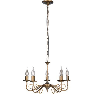JH Miller Linosa 5 Light Style Chandelier