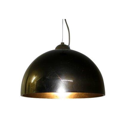 JH Miller Vetro 1 Light Bowl Pendant