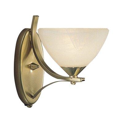 JH Miller Dorchester 1 Light Semi-Flush WallLight
