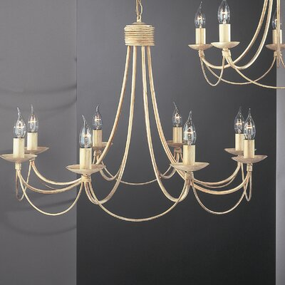 JH Miller Lecco 8 Light Style Chandelier