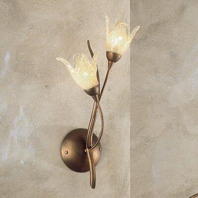 JH Miller Windsor 2 Light Semi-Flush Wall Light