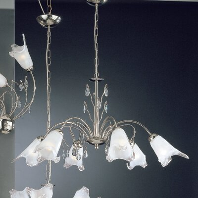 JH Miller Menaggio 6 Light Style Chandelier