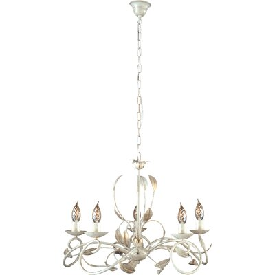 JH Miller Isabella 5 Light Style Chandelier