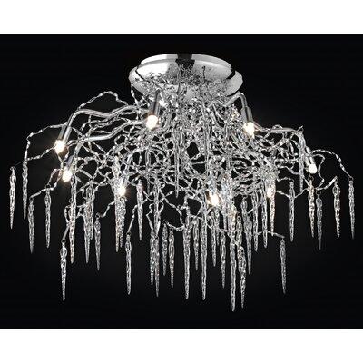 JH Miller Lya 4 Light Semi-Flush Ceiling Light