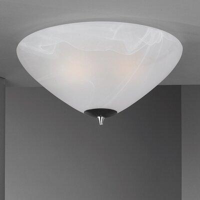 JH Miller Dorchester 2 Light Flush Ceiling Light