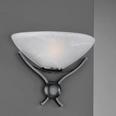 JH Miller Dorchester 1 Light Semi-Flush Wall Light