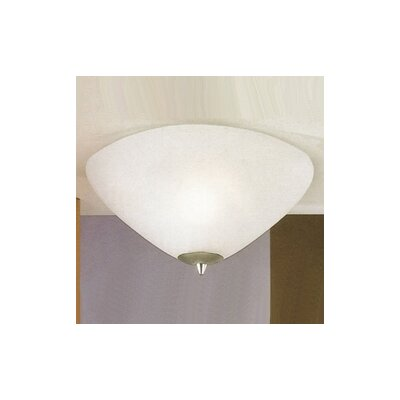 JH Miller Dorchester 2 Light Flush Ceiling Light