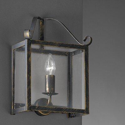 JH Miller Castel 1 Light Flush Wall Light