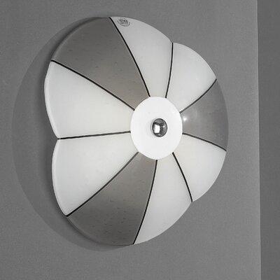 JH Miller Vetro 1 Light Flush Wall Light
