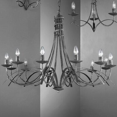 JH Miller Castel 12 Light Style Chandelier