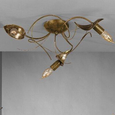 JH Miller Angelica 3 Light Semi-Flush Ceiling Light