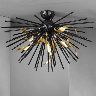 JH Miller Riccio 5 Light Semi-Flush Ceiling Light