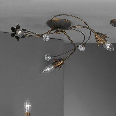 JH Miller Renato 3 Light Semi-Flush Ceiling Light