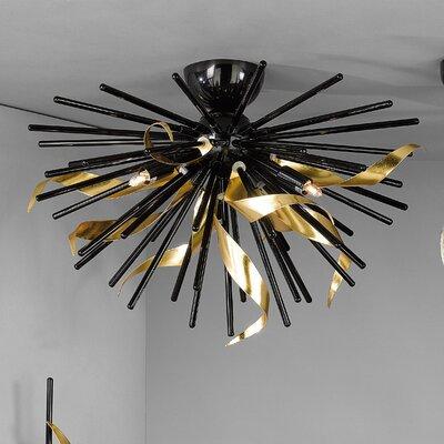 JH Miller Riccio 3 Light Semi-Flush Ceiling Light
