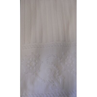 Anchor and Rope 100% Cotton Towel Set Color: White
