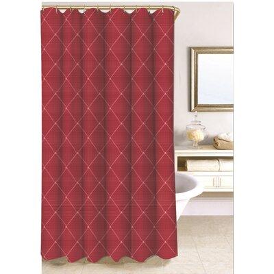 Wellington Shower Curtain Size: 72'' H x 70'' W