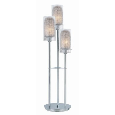 """Lite Source 13.4"""" H Table Lamp with Drum Shade"""