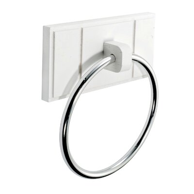Croydex Maine Wall Mounted Towel Ring