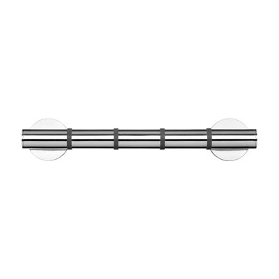 Croydex Grab 'N' Grip Metal Drill & Screw Mount 38cm Grab Bar