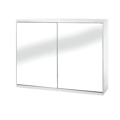 Croydex Simplicity 60cm x 45cm Surface Mount Mirror Cabinet