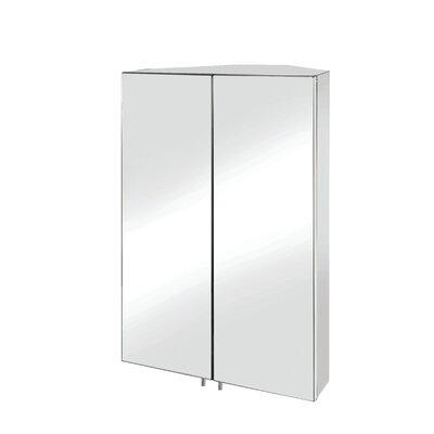 Croydex Avisio 45cm x 70cm Double Door Corner Cabinet