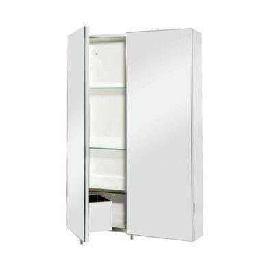 Croydex Colorado 50cm x 74cm Surface Mount Mirror Cabinet