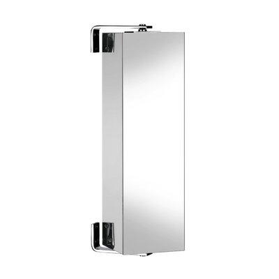 Croydex Ottawa 18cm x 64cm Surface Mount Mirror Cabinet
