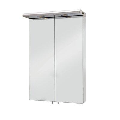Croydex Colorado 50cm x 77cm Surface Mount Mirror Cabinet