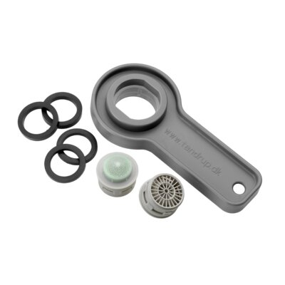 Croydex Flow Limiter and Spanner Pack