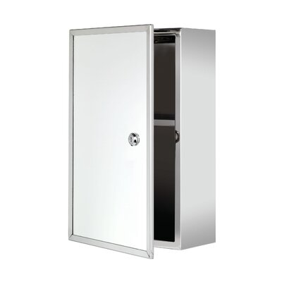 Croydex Trent 25cm x 40cm Surface Mount Mirror Cabinet