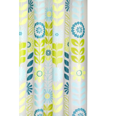 Croydex Mod Floral PEVA Shower Curtain