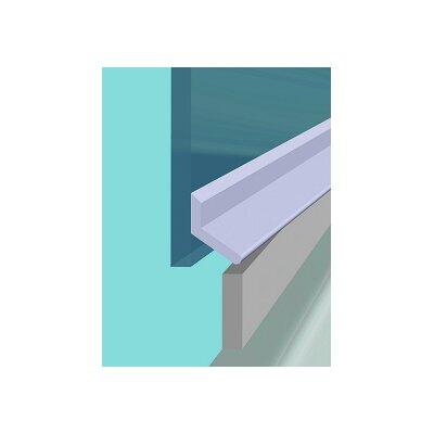 Croydex Universal 100cm Folding Shower Door Seal Kit