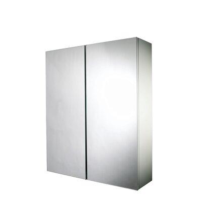 Croydex Alaska 53cm x 64cm Surface Mount Mirror Cabinet