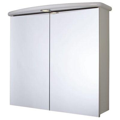 Croydex 70cm x 64cm Surface Mount Mirror Cabinet