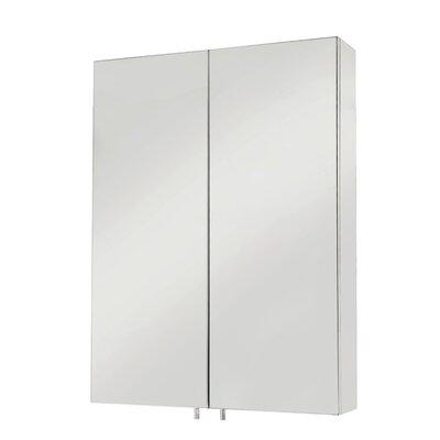 Croydex Anton 50cm x 67cm Surface Mount Mirror Cabinet