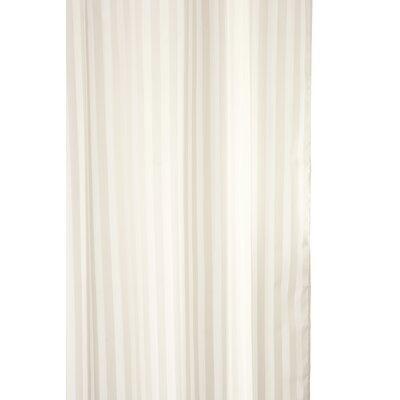 Croydex Woven Stripe Shower Curtain
