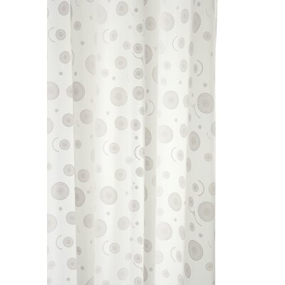 Croydex Round Circles Shower Curtain