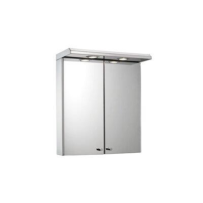 Croydex Shire 45cm x 53cm Surface Mount Mirror Cabinet