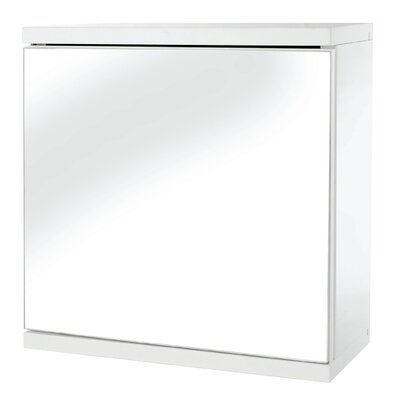 Croydex Simplicity 30cm x 30cm Surface Mount Mirror Cabinet