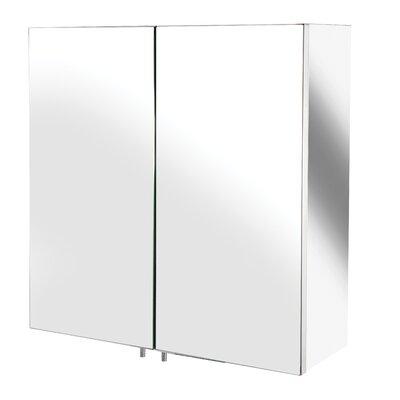 Croydex Avon 43cm x 44cm Surface Mount Mirror Cabinet