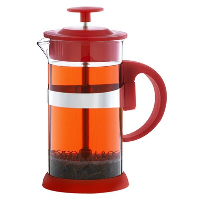 Zurich French Press Coffee Maker Size: 33.81 oz., Color: Red