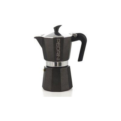 Pedrini Stovetop Espresso Pot Size: 6 Cup