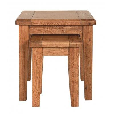 Carlton Furniture Rustic Manor 2 Piece Nest of Tables
