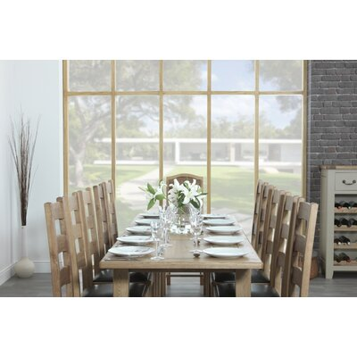 Carlton Furniture Rustic Manor Extendable Dining Table and 8 Chairs