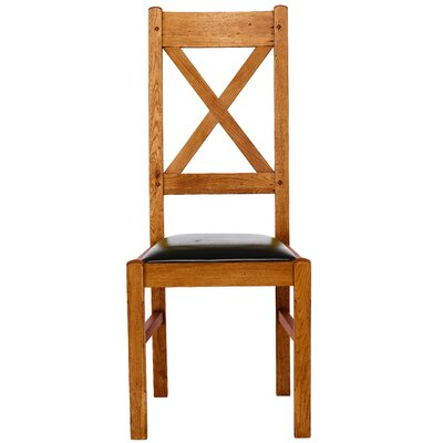 Carlton Furniture Chateau Solid Oak Upholstered Dining Chair