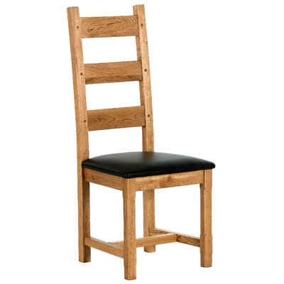 Carlton Furniture Windermere Solid Oak Upholstered Dining Chair