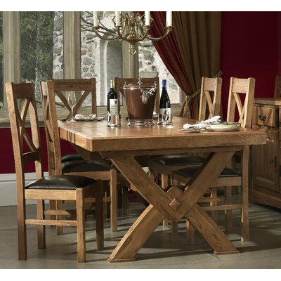 Carlton Furniture Chateau Dining Table and 6 Chairs